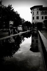 Another.World.Is.Possible ([Contro]Luce) Tags: autumn urban bw h2o bn reflexions autunno bianconero santander luce cartolina experimenting simmetria citt riflesso simmetry eos30d viaggimiraggi bncitt thatscinematic aplusphoto