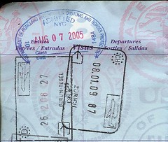 Switzerland Schengen Stamp (mlcastle) Tags: germany switzerland zurich zrich passport visa schengen passportstamp berlintegel