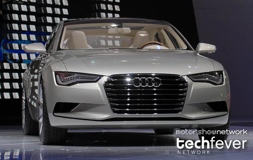 MotorShowNetwork @ Detroit 2009: Audi Sportback concept by MotorShowNetwork.