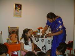 Puja to little Godess Adithi (gopisettis) Tags: 2009 sankranti