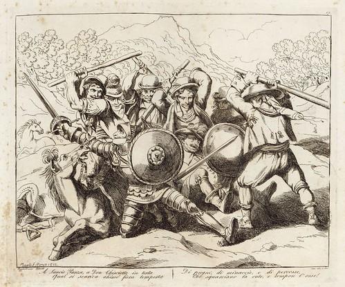 008-Le azione piu celebrate del famoso cavaliere errante Don Chisciotte della Mancia inventate ed incise 1833-1834