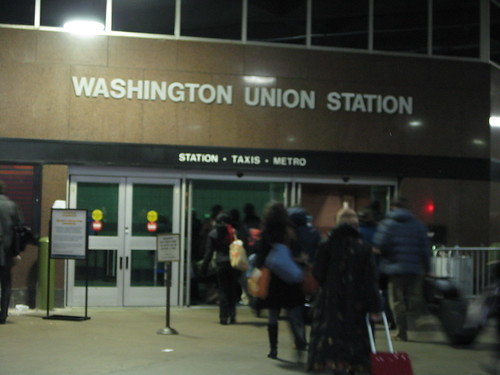 Arrival in D.C. - Union Station