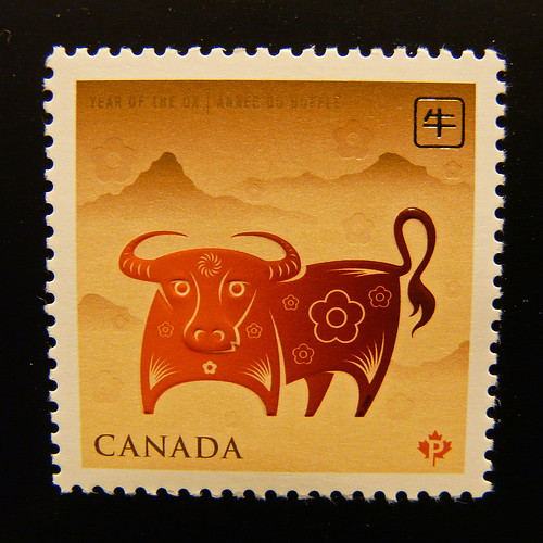"""Year of the Ox"" Stamp"