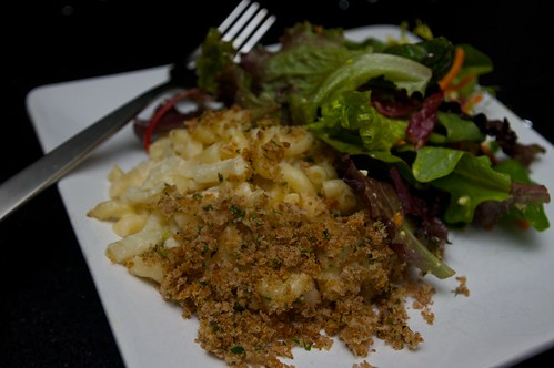 mac & cheese with cauliflower