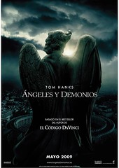 Teaser Poster Angeles y demonios Ron Howard Tom Hanks