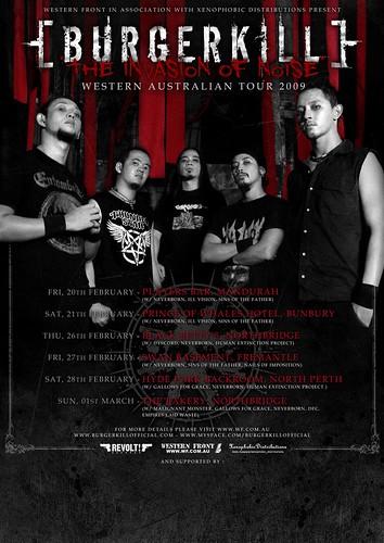 BK Local Aussie Tour Poster A2