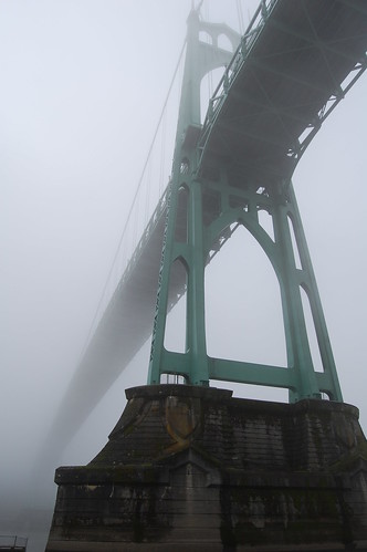 St. Johns Bridge in the Fog