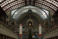Antwerp Central Station (~ Marjolein ~) Tags: station train antwerp antwerpen anvers antwerpcentralstation