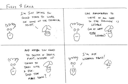 366 Cartoons - 006 - Fuzzy & Erica