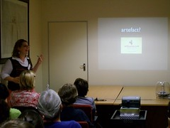 Rebecca Kahn presented on Cultural Artefacts - Online Archives for South African Heritage