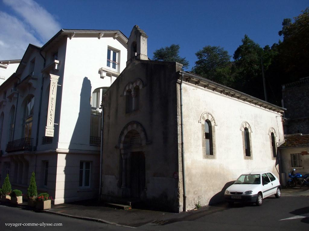 Capela em Saint Nectaire