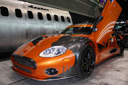 Chicago Auto Show 2009 – Spyker LM 85 Jet (like) car