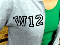 W12 hoody close up (i love my postcode) Tags: london hoodie postcode w12