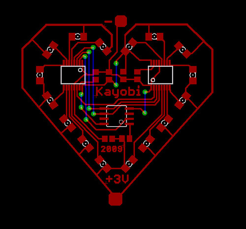 Valentines Day Card 2009 Circuit