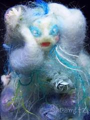 Banshee (borometz) Tags: ireland art wool monster toy death craft folklore felt banshee plush fairy needlefelting myth handcraft   needlefelted keening