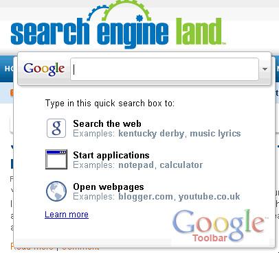 Google Toolbar 6 IE