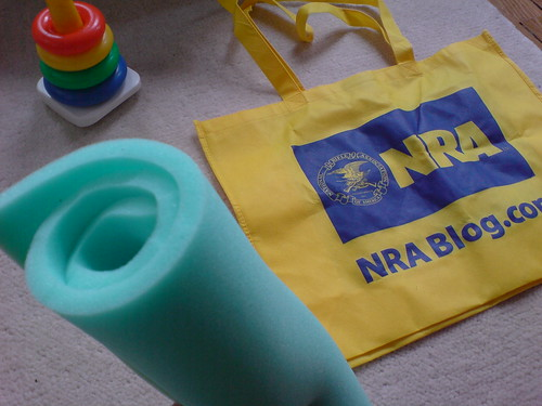 Step 1: DIY NRA totebag - to - changing pad