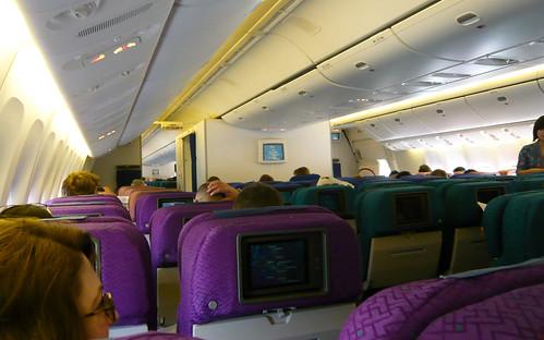 Malaysia Airlines B777-200ER 9M-MRP interior