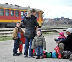 Waiting for the train to Pristina, Peje, Kosovo, March 7, 2009 (Ivan S. Abrams) Tags: nikon bosnia serbia croatia macedonia slovenia prizren kosova kosovo balkans nikkor albania nikondigital yugoslavia nato adriatic montenegro peja pristina smörgåsbord decan otan mitrovica kfor peje pec ferizaj albanians kosove gjakova gjilane dardania unmik rugova djakova blakans gjakove ahtisaari nikkor24120mm d700 nikonprofessional onlythebestare illiria ivansabrams trainplanepro nikond700 nikon24120mmf3556gvr ivanabrams eulex nikonfx nikkor24120mmlens bosniaandherzogovnia metrovica grachanitsa kosvars copyrightivansafyanabrams2009allrightsreservedunauthorizeduseprohibitedbylawpropertyofivansafyanabrams unauthorizeduseconstitutestheft thisphotographwasmadebyivansafyanabramswhoretainsallrightstheretoc2009ivansafyanabrams nikkor24120mmf35mmf3556gvr abramsandmcdanielinternationallawandeconomicdiplomacy ivansabramsarizonaattorney ivansabramsbauniversityofpittsburghjduniversityofpittsburghllmuniversityofarizonainternationallawyer