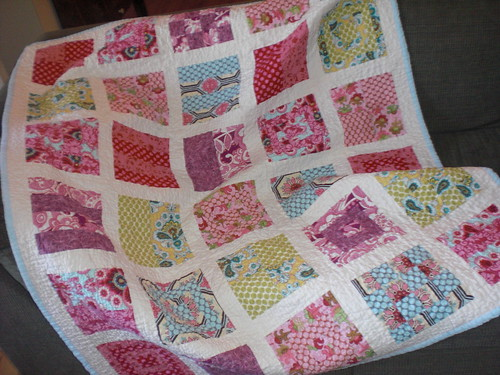 completed quilt yayyyy me