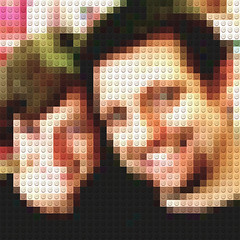 Father And Son In Lego (Kaptain Kobold) Tags: family selfportrait texture alan lego pixels cei kaptainkobold