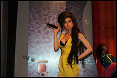 """ Yeaaahaa Amy Winehouse ! In Madam Tussaud Lonodon =D "" (mK <3) Tags: tussaud london amy singer british winehouse ch7al maddam acrtess"
