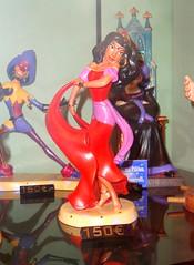 Esmeralda (DolceDanielle) Tags: paris france statue shop shopping souvenirs store dancing disneyland statues disney resort souvenir notre dame esmeralda hunchback disneys porselain