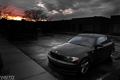 135i Rainy Day (Driven Media - Johan Lee) Tags: chicago rain design 3d day rainy bmw e82 135i