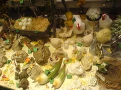 Osterdekoration (micky the pixel) Tags: bunny window shop easter schweiz switzerland chocolate egg schaufenster marzipan shopwindow zürich schokolade