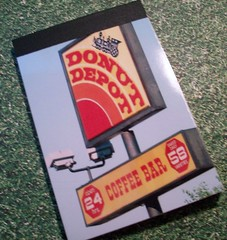 Donut Depot Notepad (chicalookate) Tags: paper crafty notepad