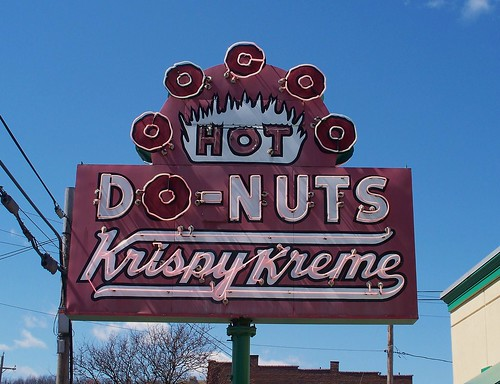 OH Akron - Krispy Kreme Donuts by scottamus.