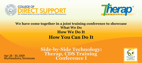 Graphic of CDS Training Conference