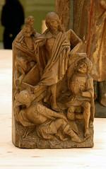 resurrexion (groenling) Tags: wood grave museum angel soldier rotterdam graf jesus carving engel rijksmuseum boijmans hout soldat woodcarving museumboijmansvanbeuningen houtsnijwerk snijwerk resurrexion opstanding