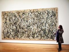 MoMa- Jackson Pollock, 1950 (Pina Rojas) Tags: newyork moma museumofmodernart