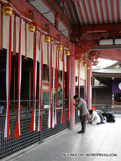 More people praying