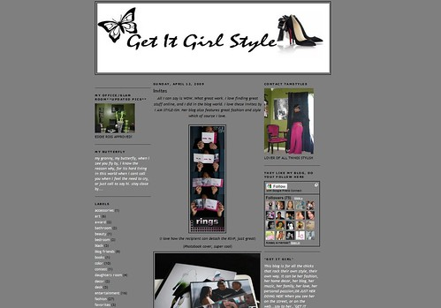 Get it Girl Style - Invitation Feature