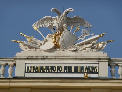Schoenbrunn clock