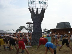 Yoga at Bonnaroo