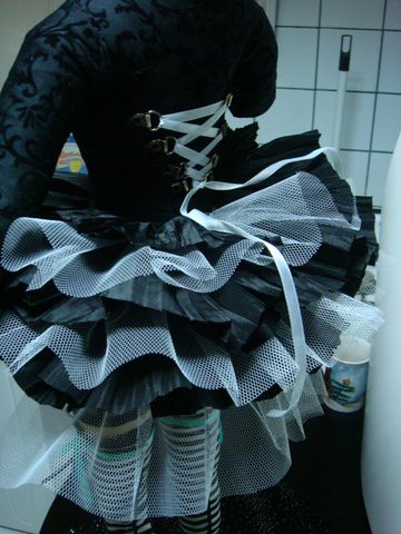 Ghotic-Lolita doll by you.