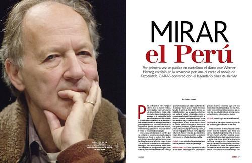 Herzog en Caras Peru