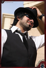 It's Not GoodBye ... (Mohammed Al-Adsani ) Tags: sun black sunglasses hand watch ahmad      aladsani