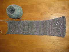 KB Designs New Scarf Progress