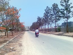 Entrance to Rolling Hills (Andru-Khan) Tags: hyderabad rollinghills inida cyberabad