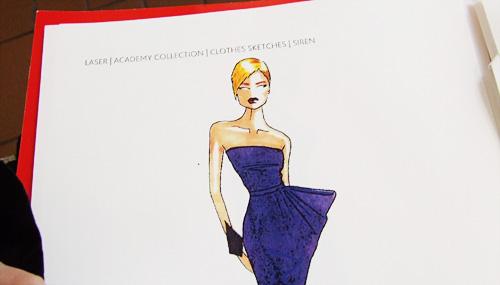 Anthony Price inspired dress