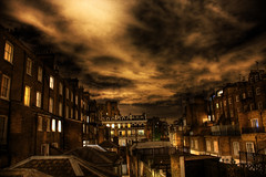 View from my window (art_morpheus) Tags: city windows evening nightsky