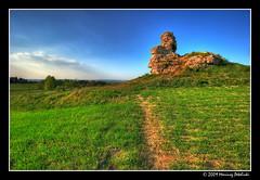 triassic rock another  view (Mariusz Petelicki) Tags: hdr 3xp bolcin mariuszpetelicki skakatriasowa triassicrock