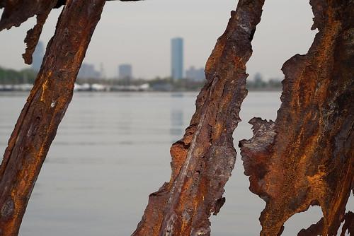 Rusted Seawall