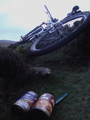 last nights feast (cheeeesekate) Tags: sunrise darkpeak earlyriser bivvy wheelstones