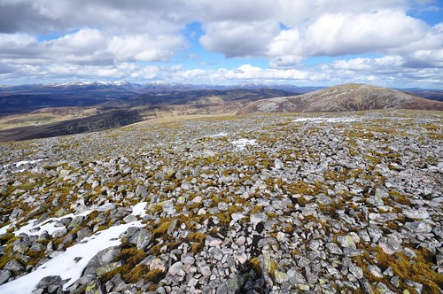 Cairngorms from Carn an Righ
