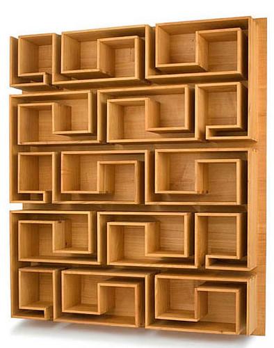 Maze bookcase